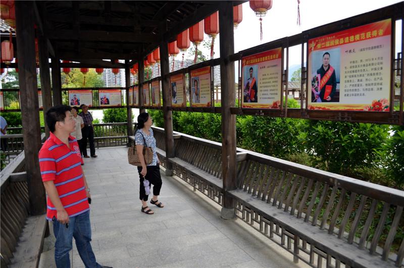 福州闽侯道德内打造长廊公园文化室内设计怎样拉单图片