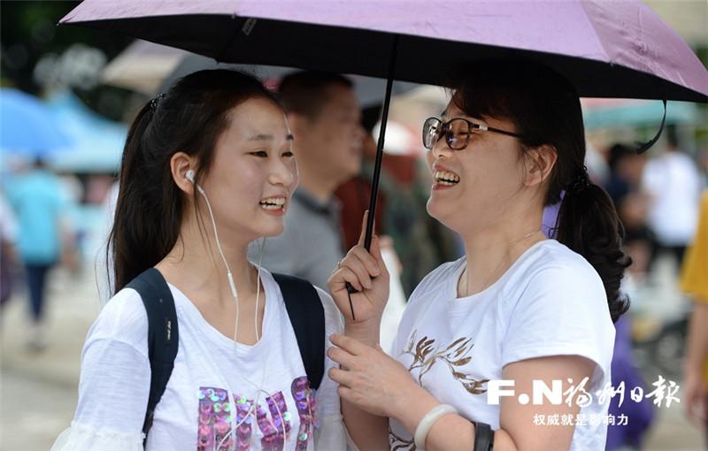 福州3.2万考生奔赴考场 一城守护一城温暖