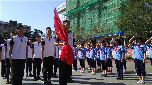 台江区多形式开展向国旗敬礼主题活动