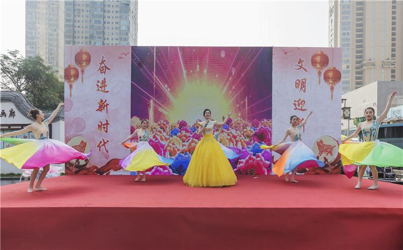"""台江举办""""我们的节日·春节""""暨""""文明城·幸福年""""活动"""