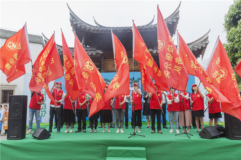 台江:志愿服务引领风尚 垃圾分类蔚然成风
