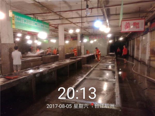 台江推动农贸市场示范点建设 助力文明城市创建